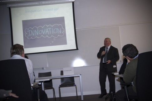 Talking about innovation and libraries during OCLC presentation by Christian Négrel at EBSLG Continental Meeting 2014 #ieebslg2014