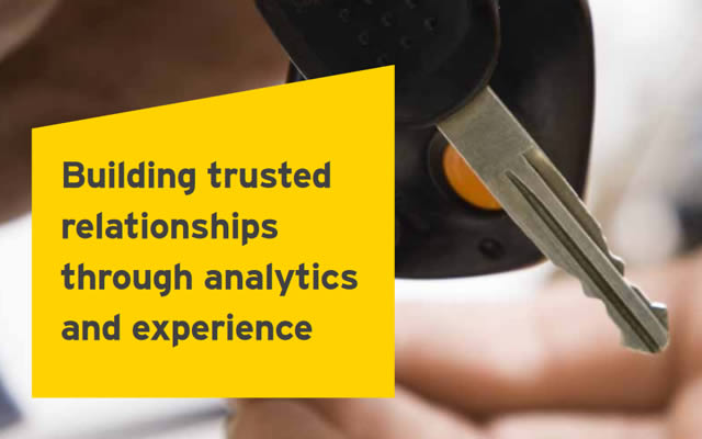 EY building trusted relationships through analytics and experience