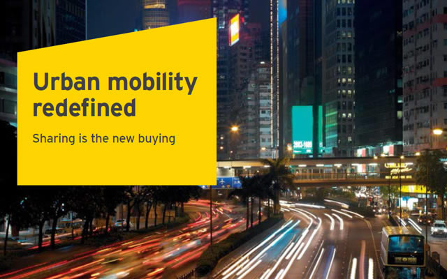 EY urban mobility redefined