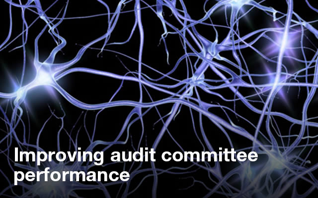 Improving audit committee performance